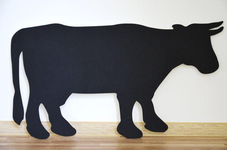 Tablica kredowa krowa/ Handmade by PanDekor pandekor.kontakt@gmail.com