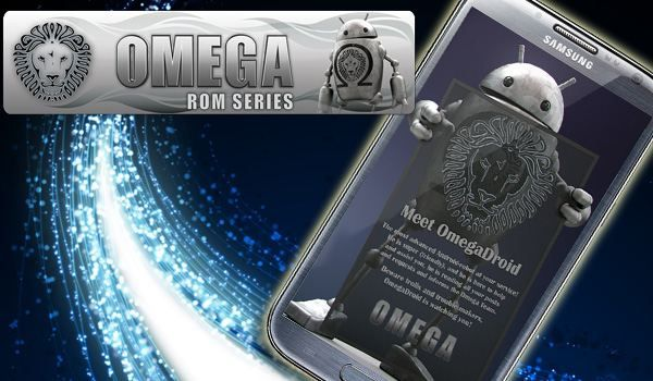 Omega v1.0 custom ROM for the Samsung Galaxy S4