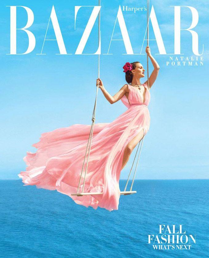 Natalie Portman  - Harper Bazaar