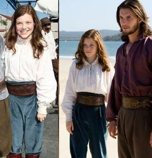 Lucy Pevensie, Voyage of the Dawn Treader. Blog 1 screen shot