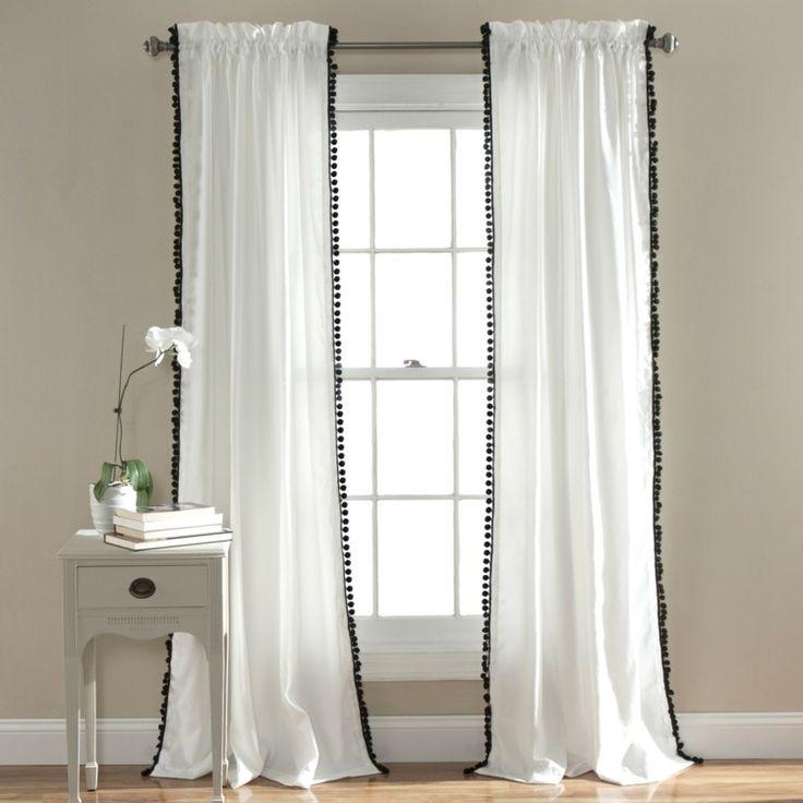 17 meilleures id es propos de rideaux rustiques sur pinterest rideaux fai - Maison coloree rideaux ...