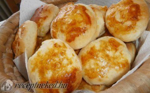 Habkönnyű pogácsa recept fotóval