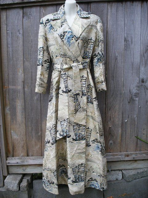 STUNNING Couture 1940s Silk Satin Tafetta by VintageEclectica, $375.00