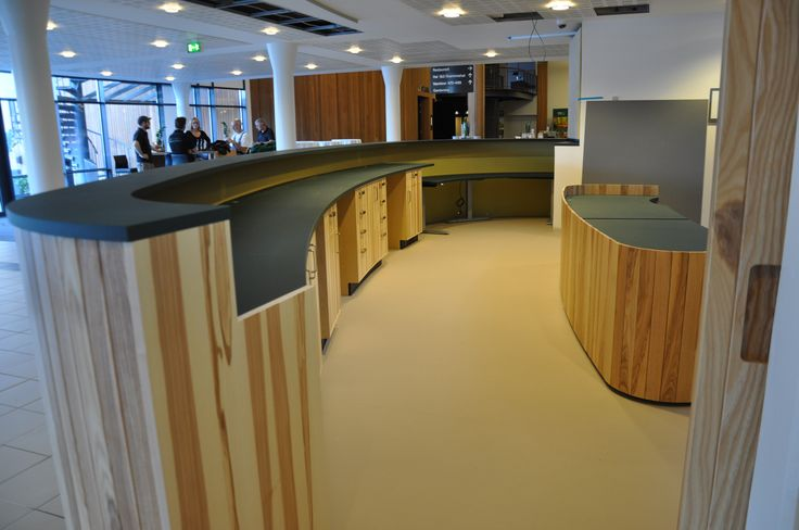 Handmade reception for a hotel in Denmark, called Vingstedcentret.   http://www.kjeldtoft.com/