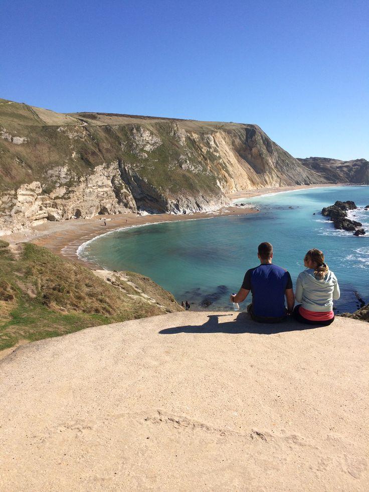 Overlooking Man of War Bay at Durdle Door, Dorset England  Discover Purbeck