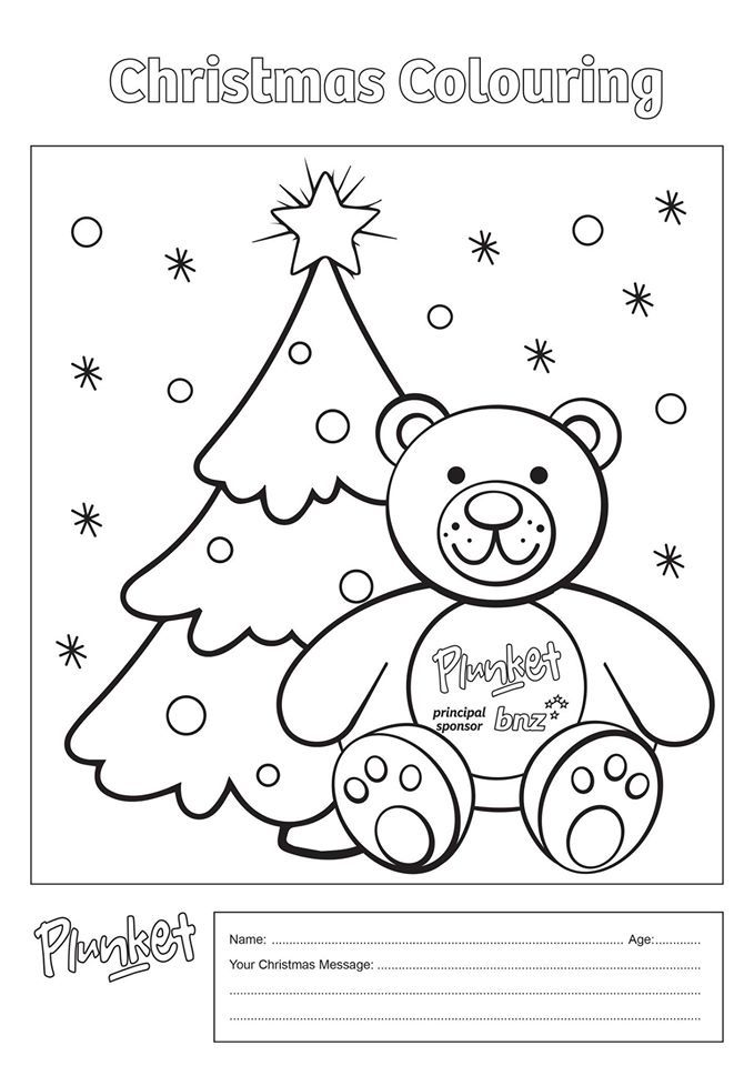 13 best Christmas Colouring Competition images on ...