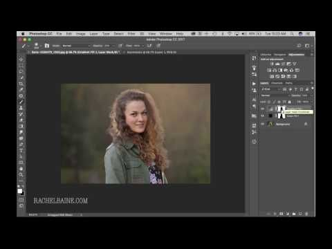 Photoshop Layer Masks, Sun Flare and Background Color Change – Rachel Baine Photography