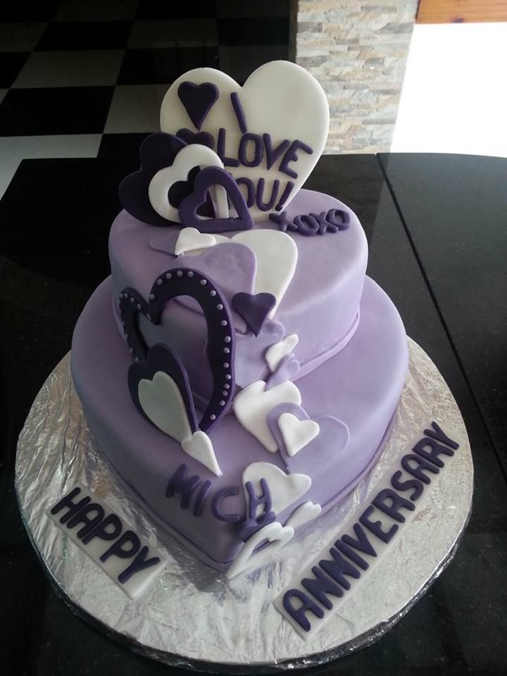 Design Of Cake For Anniversary : 17 Best images about Cake Designs + Food Decorations on ...