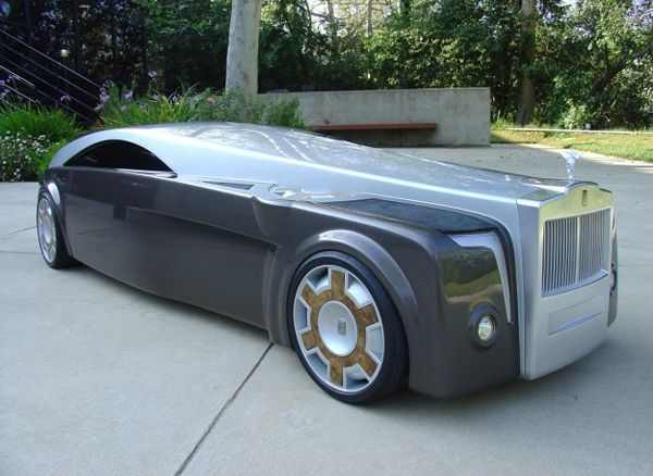 Rolls Royce Apparition Concept. Yowzer.