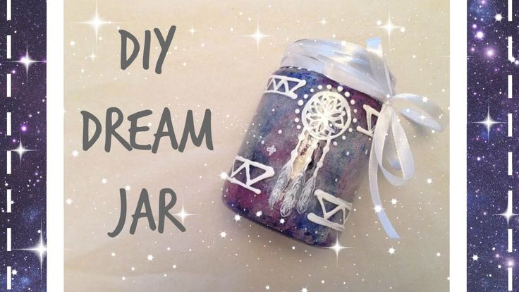 * ✧ Glow in the dark Dreamer Jar | DIY ✧ Tumblr Inspired *
