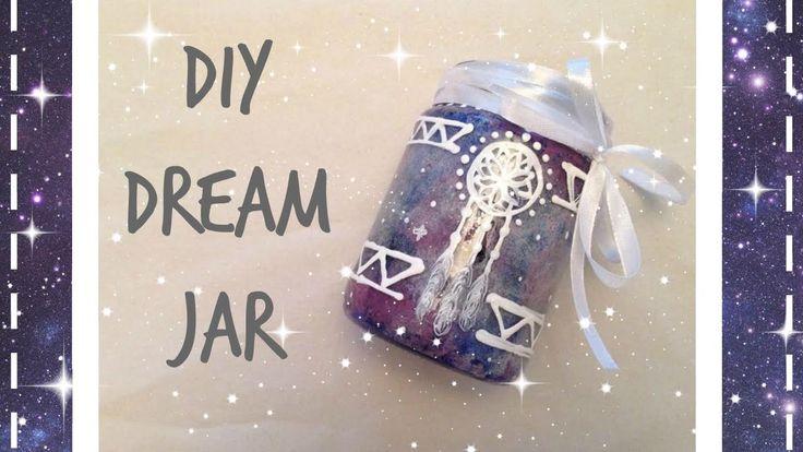 * ✧ Glow in the dark Dreamer Jar   DIY ✧ Tumblr Inspired *
