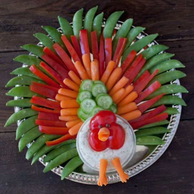 Turkey Veggie Tray  - Redbook.com