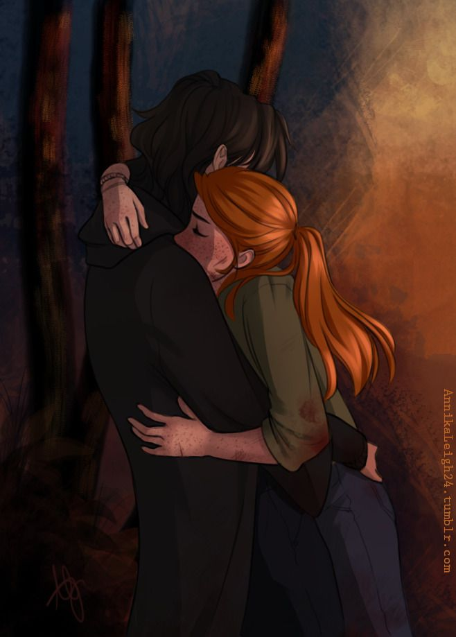 Ginny and Harry Might be Snape and Lily....