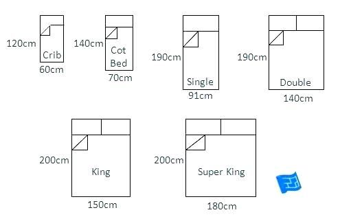 King Size Bed Measurements Full Size Bed Dimensions In