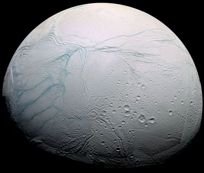 Warm Oceans on Saturn's Moon Enceladus Could Harbor Life