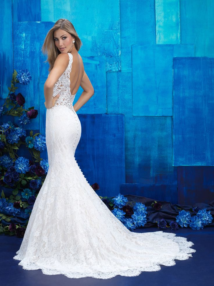 Allure Bridals 9412 Sample: Ivory, size 10