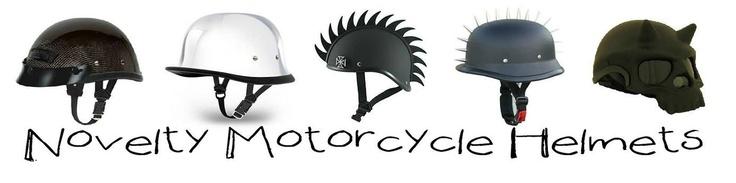 novelty motorcycle helmets