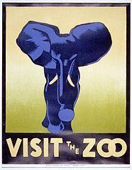 Works Progress Administration promotional poster, c.1937
