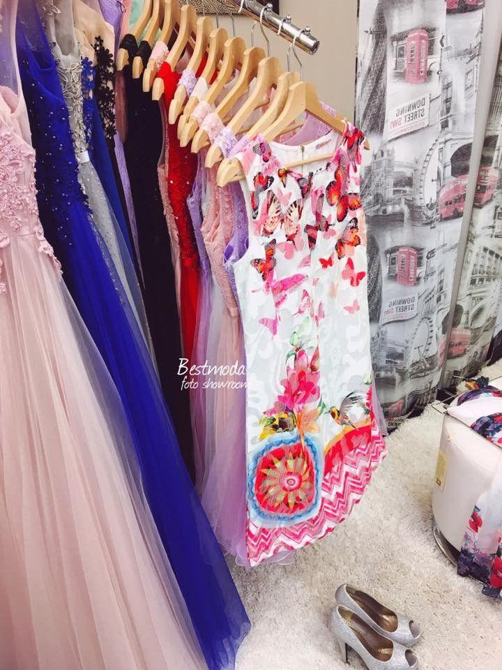 Multicolor lace summer dress