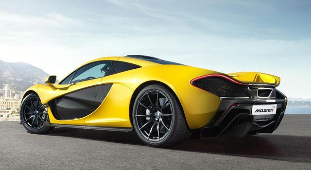 McLaren P1 scenic view