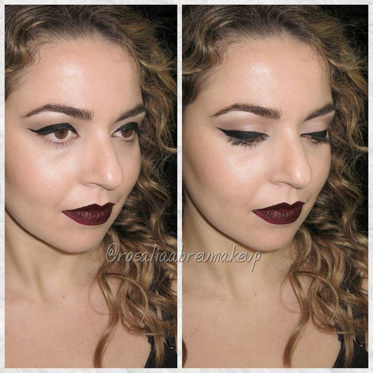 Maquiagem para festas, por Rosália Abreu -- Instagram: @rosaliaabreumakeup