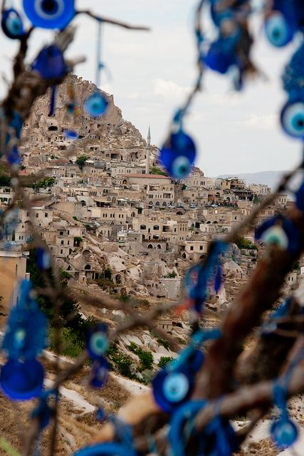 Cappadocia mountain city, Turkey