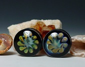 """Stalactite ear plug double flare 1/2"""" up to 1"""" gauge  piercing jewelry."""