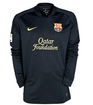 FC Barcelona 2011-12 Away Shirt