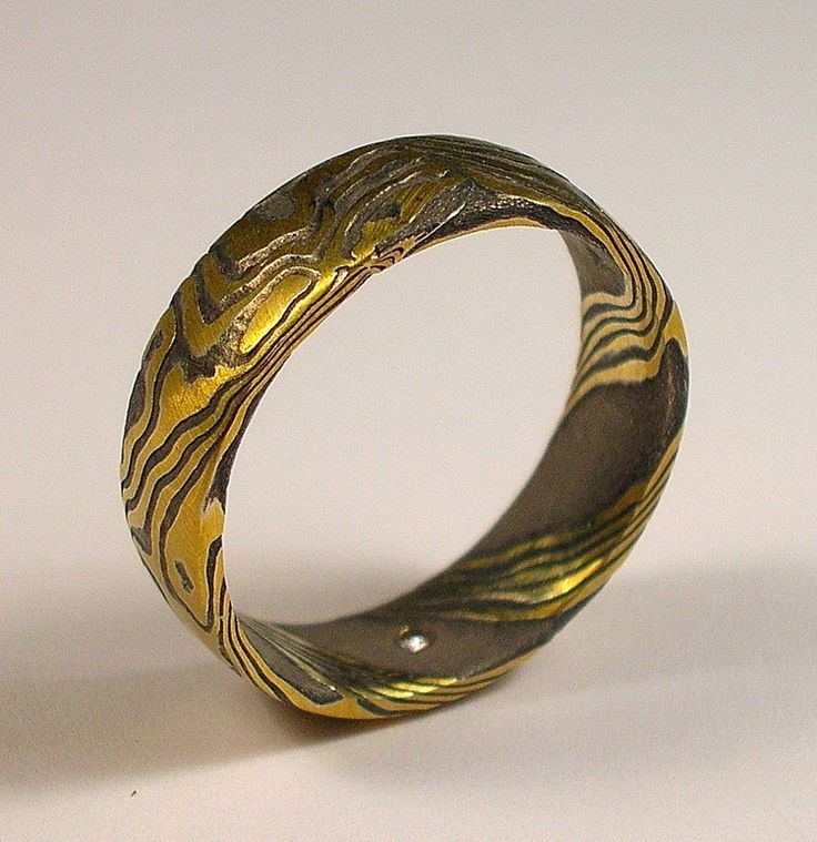 diamond mokume bahr fullerton davenport ring and silver rings gold sterling artists