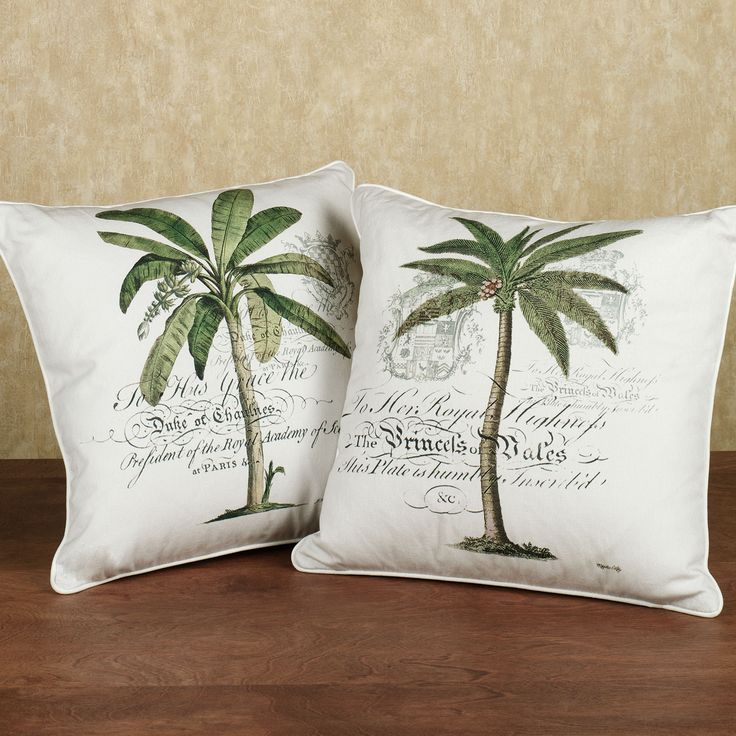 Decorative Pillow Palm Tree : 183 best Flip Flops and Palms... images on Pinterest Beach sandals, Flip flops and Palm trees