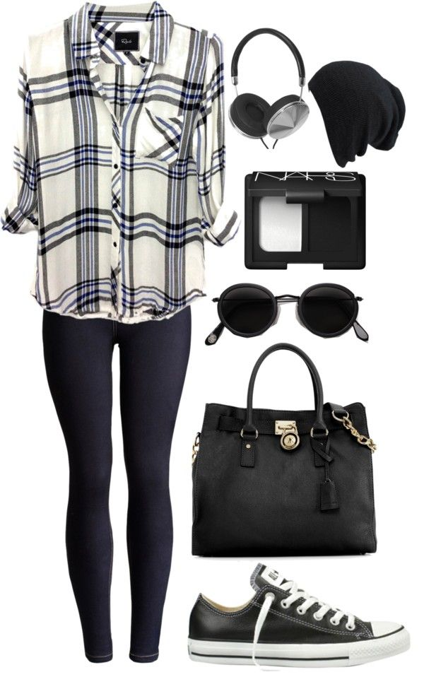 trippen shoes usa A Touch of Blue | Outfit, Plaid and Plaid Shirts