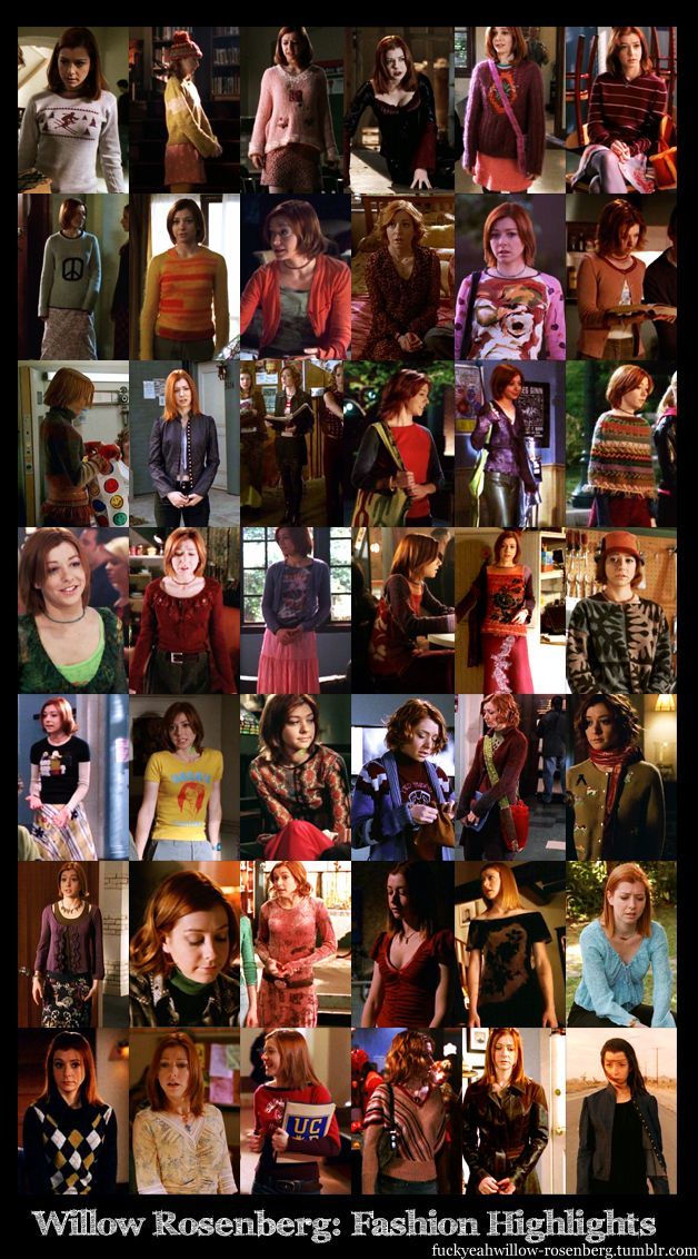 Willow Rosenberg's Sweaters.  I don't know who made this, but I love you.