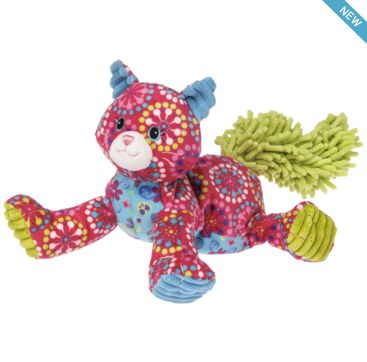 Pizzazz Raspberry Kitty from Mary Meyer  Available now at Bobangles.  #MaryMeyer #plush #toy #kids #cute #Australia #kitten #cat
