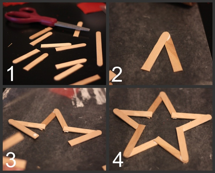 popcycle sticks crafts | Ankle Biter Art: Popsicle Stick Ornaments