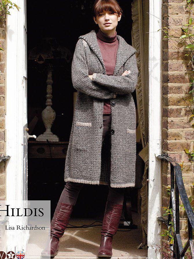 Классическое пальто Hildis с описанием от Lisa Richardson.