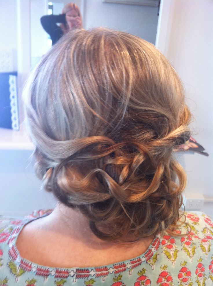 hair up , wedding or formal