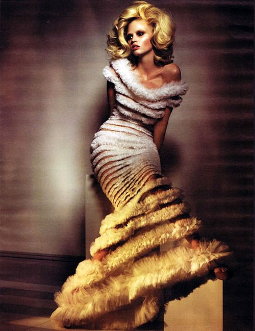 LARA STONE IN 'ONE OF A KIND' PHOTOGRAPHER: CRAIG MCDEAN DRESS: JEAN