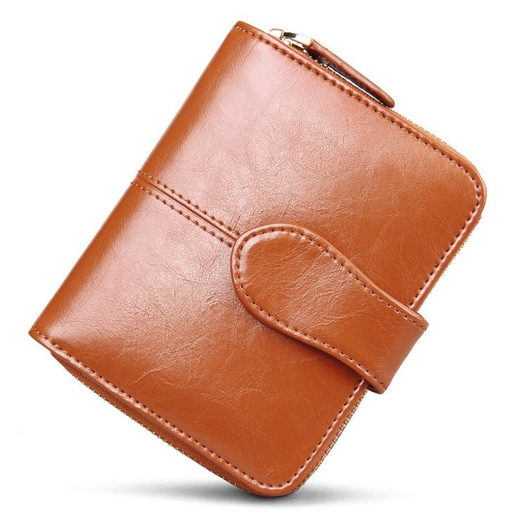 Genuine Real Leather Women Short Wallets //Price: $31.50 & FREE Shipping // #shop #clutch #bagsdesigns