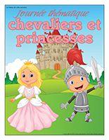 Affiche thématique-Journée thématique-Chevaliers et princesses