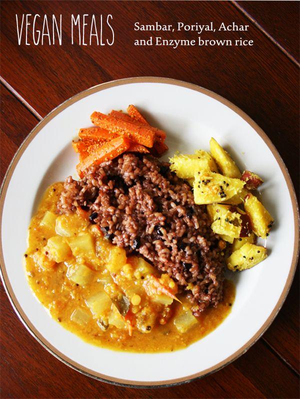 ヴィーガンミールス&酵素玄米のレシピ完成 - VEGAN FOOD 最近はヴィーガンカレーに夢中で毎日カレーを作ってます!