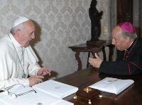 Audiencia del Papa Francisco en vísperas de la Navidad