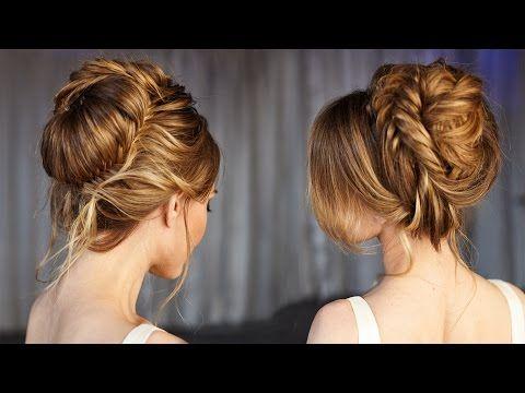 Elegant Wedding Updo Prom Hairstyles Hair Tutorial - YouTube