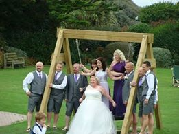 Kelly Freeman - my beautiful wedding at the Woolacombe Bay Hotel - the hotel and staff were perfect