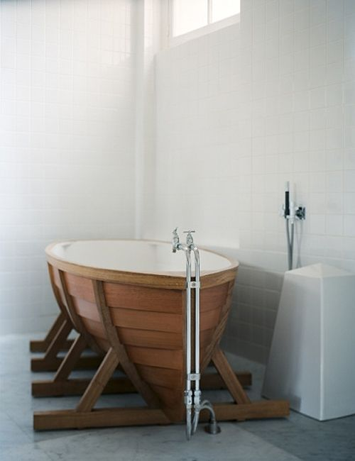 I Don T Know If Would Put This In My House But It Is Freakin Cool Viking Bath Boat By Wieki Somers