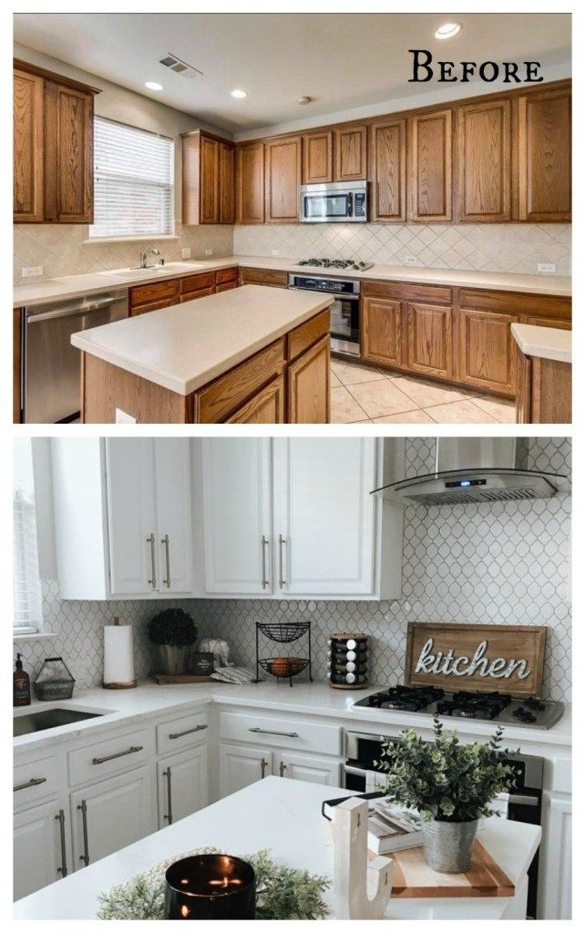 27 Inspiring Kitchen Makeovers Before And After Cheap Kitchen