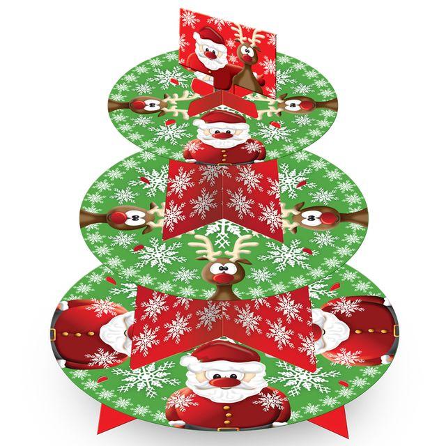 Christmas 3 Tier Cake Stand http://www.ocado.com