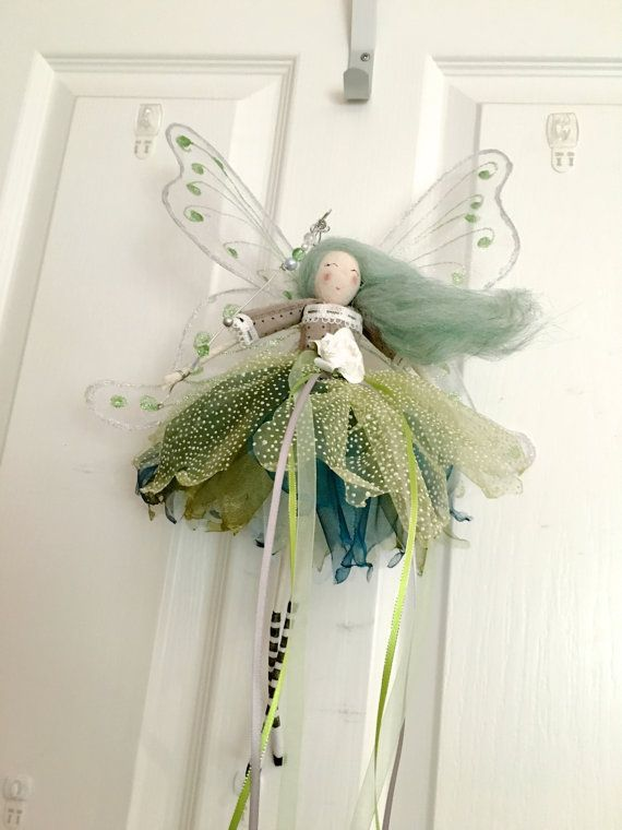 Dream Catcher Large Winged Fairy by FabulousFairyFactory on Etsy