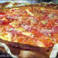 Tarte tomate et beaufort pour un repas tout en simplicité