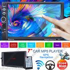 "Free Map2 DIN 7"" Car Stereo MP5 Player GPS Navi MP3 FM USB TF Bluetooth Radio"