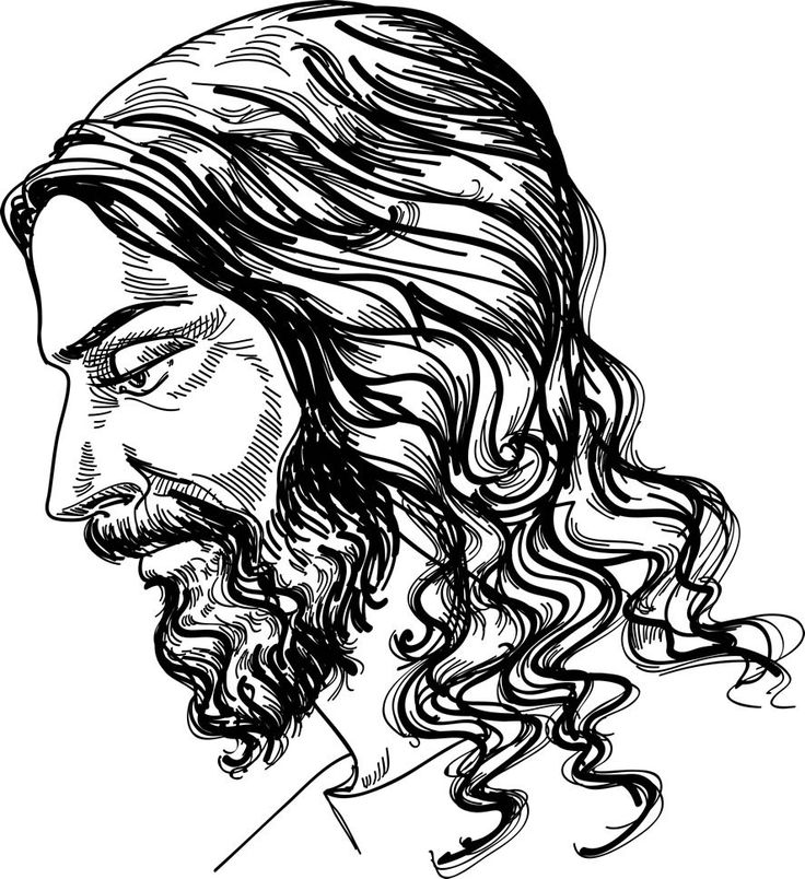 Jesus Christ CDR EPS PNG clipart vector High Definition by